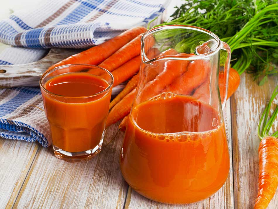 Carrot Juice In A JUg