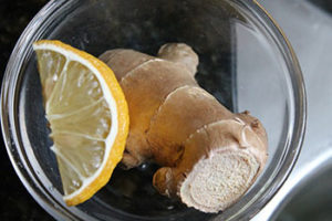 Ginger And Lemon Ready To Be Juiced