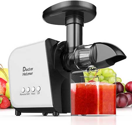 Doctor Hertzner Slow Cold Press Juicer
