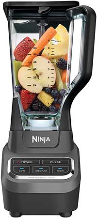 Ninja Large Blender Full Of Fruit