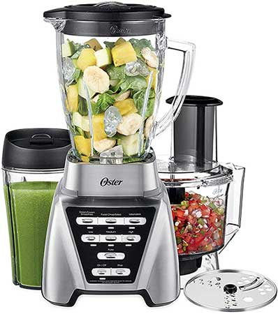 Oster Blender With Food Processor and Green Smoothie Cup