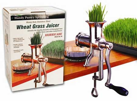 Stainless Steel Manual Wheatgrass juicer