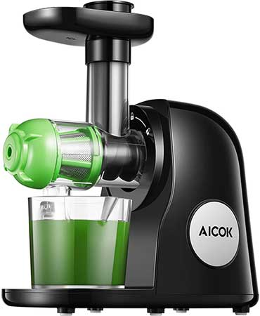 Black Aicok Masticating Juicer
