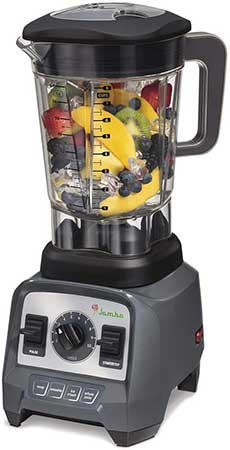 Jamba Blender Packed Full Of Leafy Greens