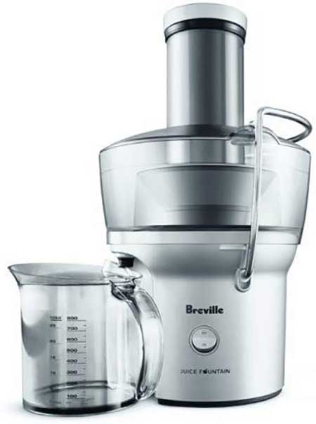 Breville BJE200XL Compact Juice Fountain 700 Watt Juice Extractor