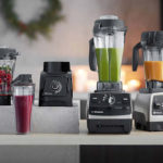 Collection Of Vitamix Blenders In Use