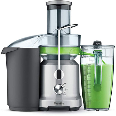 Example of centrifugal juicer
