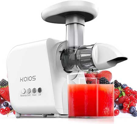KOIOS High Yield Cold Press Juicer