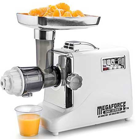 Mega force Metal Masticating Juicer