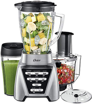 Oster Pro 1200 Blender Plus Green Smoothie And Salsa