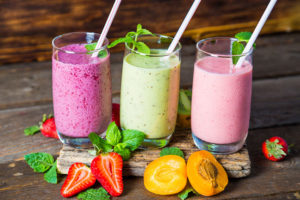 Three Healthie Smoothies Fresh From The Blender