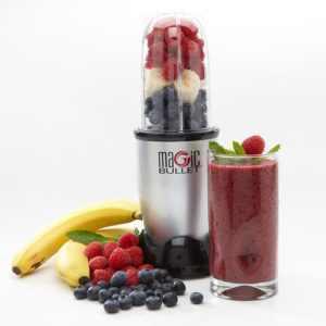Magic Bullet Making A Smoothie