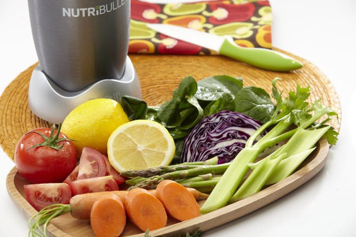 Nutribullet And vegetables