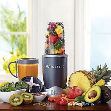 Nutribullet Original With Pile Of Fruit
