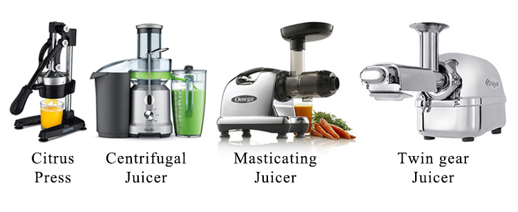 Types Of juicer explained