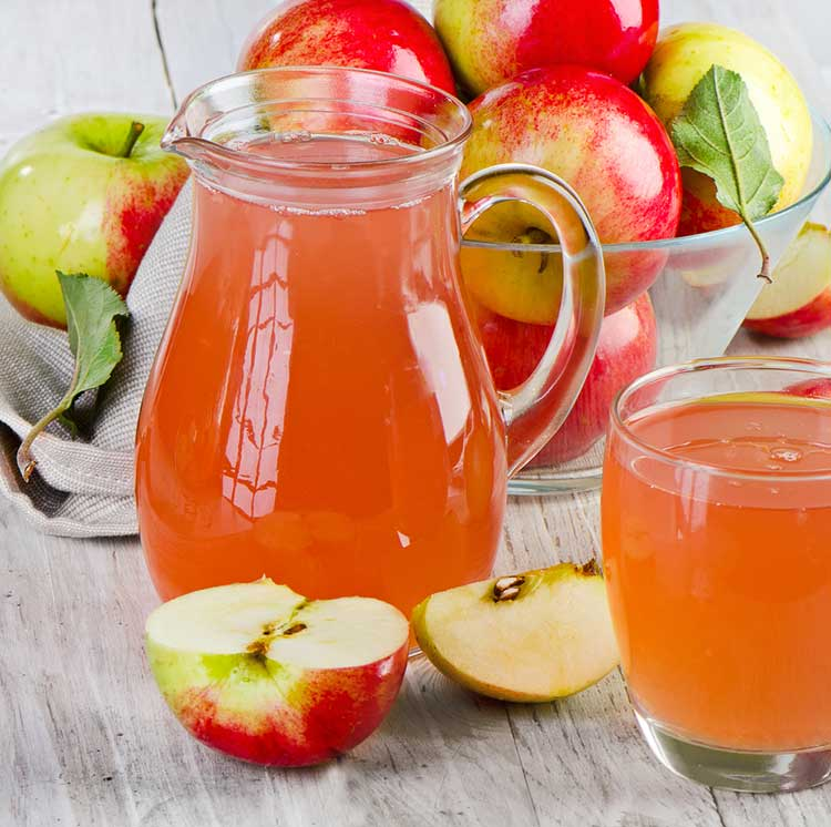 Apple Juice Made Without A Juicer