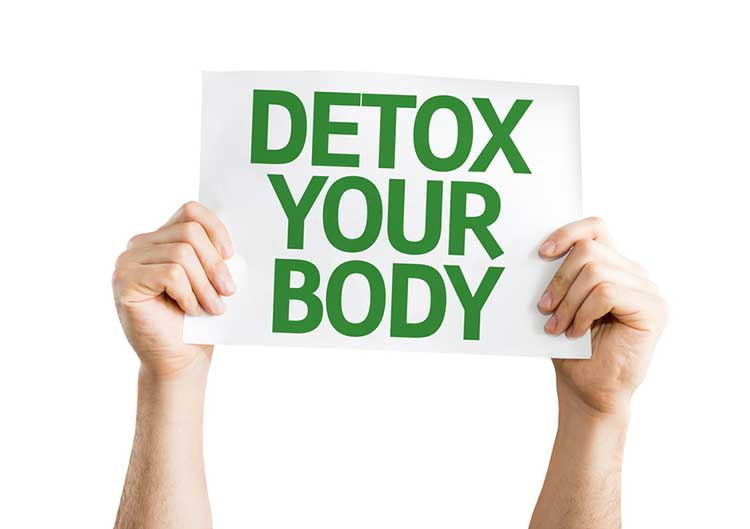 Detox Your Body Sign