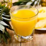 Freshly Made Pineapple Juice