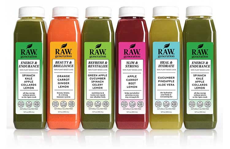 Raw Generation Skinny Cleanse Juices For Review