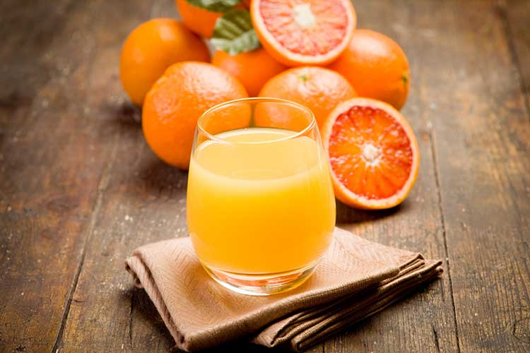 Freshly Made Orange Juice