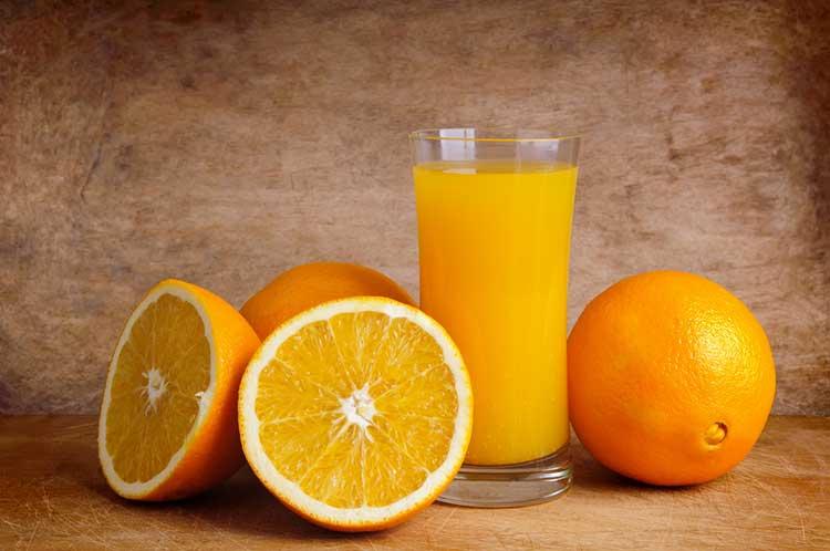 Glass Of Healthy Orange Juice