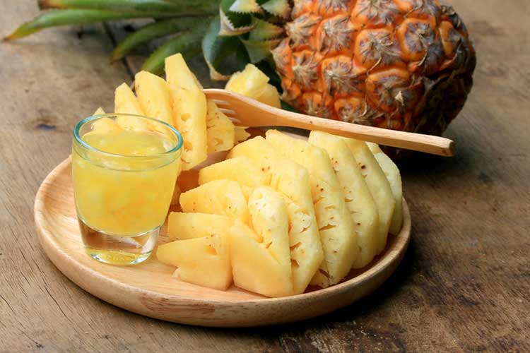 Healthy Pineapple Juice