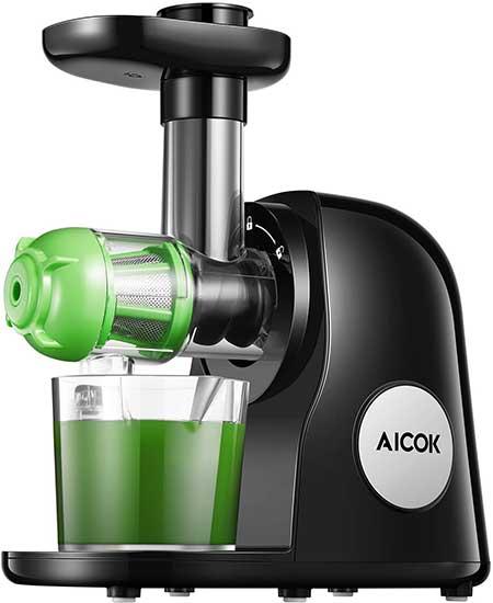 Aicok Juicer Machines, Slow Masticating Juicer