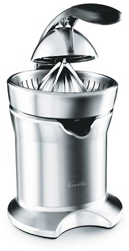 Breville 800CPXL Die Cast Stainless Steel Motorized Citrus Press