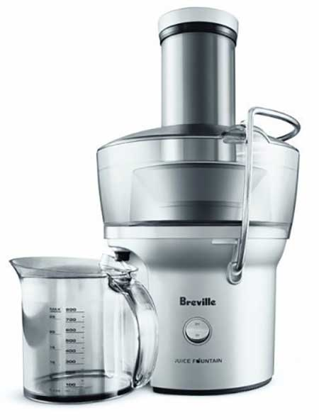 Breville BJE200XL Compact Juice Fountain 700 Watt Juice Extractor