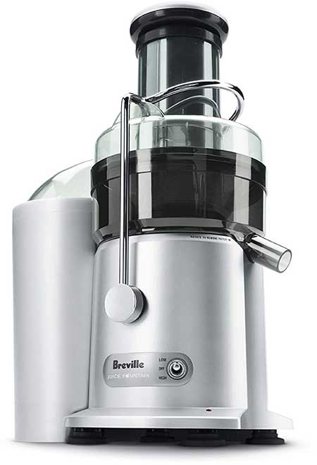 Breville JE98XL Juice Fountain Plus 850 Watt Juice Extractor