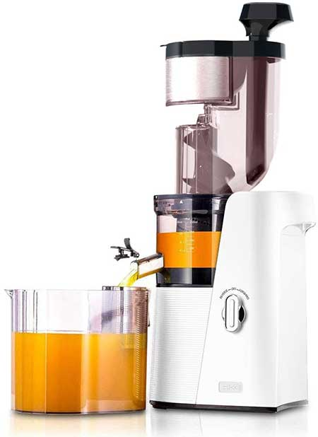 SKG Slow Masticating Juicer Cold Press 36 RPM Big Mouth Juice Extractor