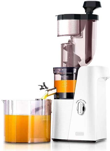 SKG Slow Masticating Juicer Cold Press 36 RPM Big Mouth Juice Extractor