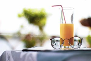 Orange Juice to be drank after a fast