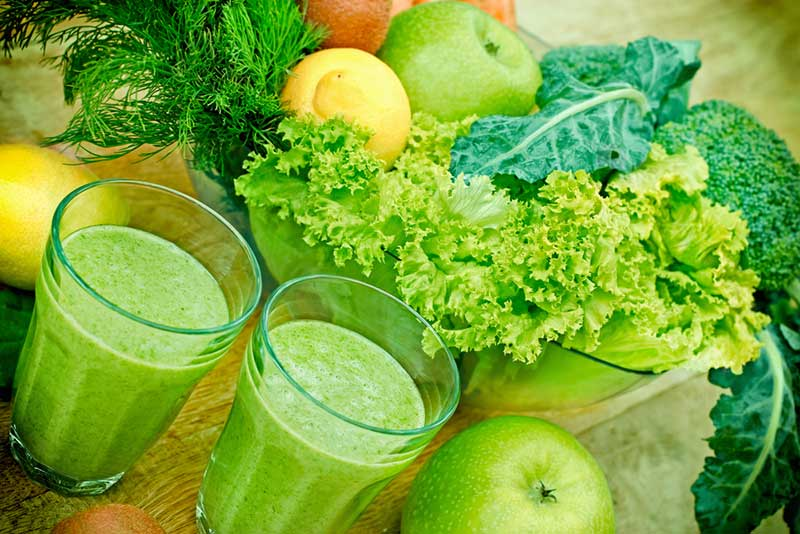 Some of the best ingredients for green juice