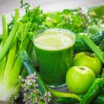 green juice or coffee in the morning