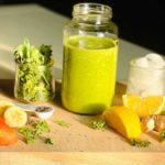Green juice made in a nutribullet